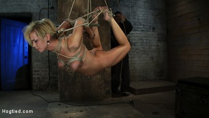 Category-5-Suspension-Made-to-Suck-Cock-and-Cum-All-Tying-on-Screen-Amazing-live-rope-bondage