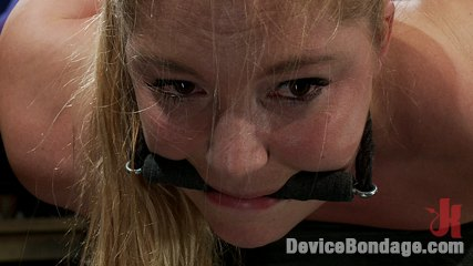 Humility is a virtue. Porn superstar Aurora Snow metal bound in a hogtie flogged, ass-hooked, and cumming.