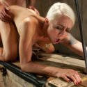 Lorelei Lee makes her husband lick her pussy while she gets fucked by another man!