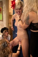 Three lesbian witches use seduction witchcraft & BDSM in order to seduce a lesbian virgin into a world of pain, punishment and hot lesbian fetish sex!
