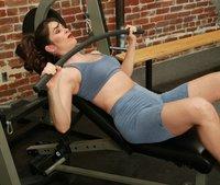Karina gets a humiliating workout from Janay.