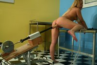 Lainey gets pounded until she is totally fucked by a machine!