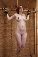 Tracey Hilton, bondage lover, is most comfortable when tied.