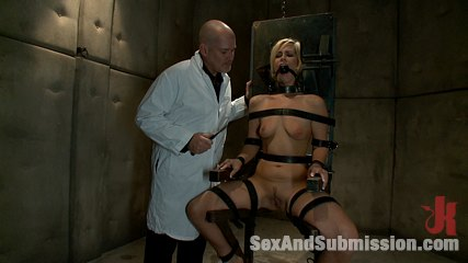 Sex offender. Tara busted for glory hole and gets bound and fucked.
