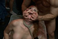 Audrey Hollander takes double anal, double vag, fisting, an air-tight dp, and more in a rowdy dive bar
