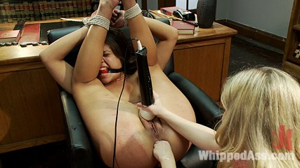 20 year old double fisted for the first time. Lovely 20 year old with a perfect anus gets doubled fisted by lascivious blonde dominatrix!