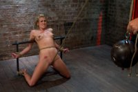 Tiny-Southern-Belle-pushed-to-her-limits-back-arched-made-to-cum-hard-Cruelest-crotch-rope-ever