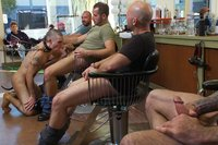 Shaved-and-fucked-in-a-busy-barbershop