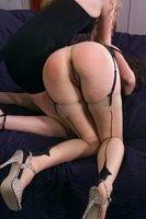 Prncss Kali doms Lena Ramon, slapped, tied, hotwaxed, feet, strap