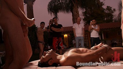 Bound and humiliated at helios resort. Gianni Luca gets bound and humiliated at Helios Resort in Palm Springs.