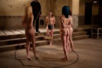Day 2-The Final Two slaves have been picked to go through the training and live in the Armory for the next month