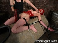 Kory Vixen is subject to the ropework of Thane.