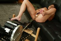 Alexa gets fucked hard and deep by the Sybian machine!