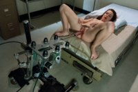 Princess Donna Dolore machine fucks AnnaBelle Lee in a rare machine appearance. She fingers AnnaBelle's ass while The Predator POUNDS her pussy.