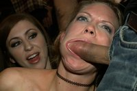 Rain DeGrey cums so hard she loses her mind in a public bar while she is fondled by strangers, fucked in the ass, and fisted!!