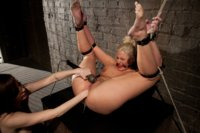 Phoenix-Marie-gets-her-ass-Fisted-in-Bondage
