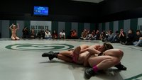 Brutal-4-girl-Tag-Team-Match-up-Non-scripted-sexual-submission-wrestling-Crushing-scissor-holds