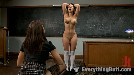 The french student. Delicate natural anatomy french girl castigate and ass fucked!