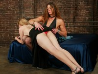 Veronika's first time dominated by another woman