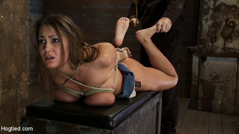 Have removed Sexy women tied up in a truck