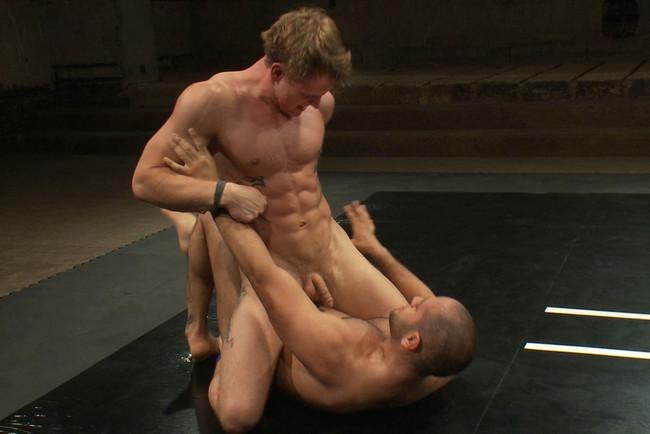 Naked Kombat - Trent Diesel - Leo Forte - Leo Forte vs Trent Diesel - The Bondage Match #8