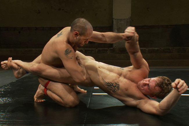 Naked Kombat - Trent Diesel - Leo Forte - Leo Forte vs Trent Diesel - The Bondage Match #9