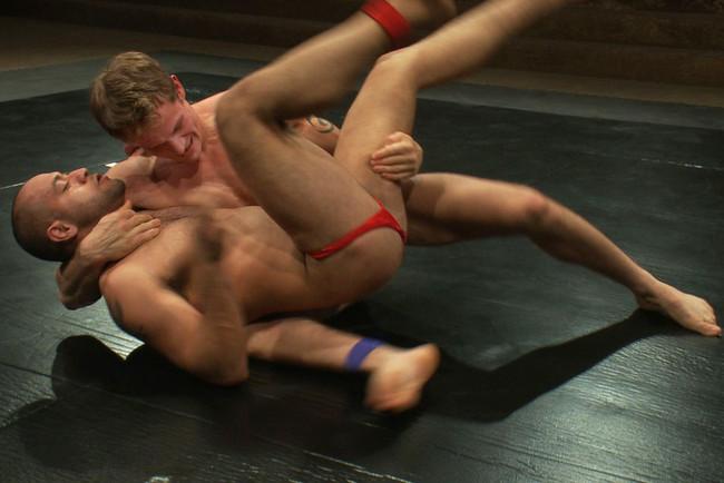 Naked Kombat - Trent Diesel - Leo Forte - Leo Forte vs Trent Diesel - The Bondage Match #11