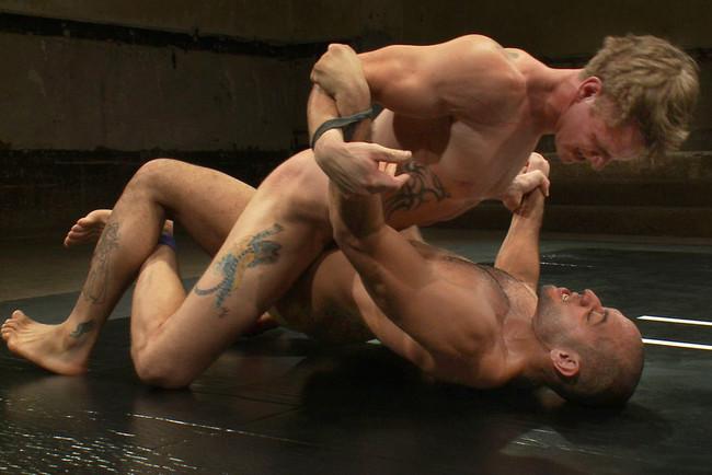 Naked Kombat - Trent Diesel - Leo Forte - Leo Forte vs Trent Diesel - The Bondage Match #5
