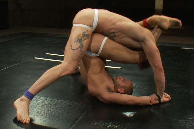 Naked Kombat - Trent Diesel - Leo Forte - Leo Forte vs Trent Diesel - The Bondage Match #6