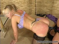 Kym Wilde takes Abbey home from party for punishment and fucking