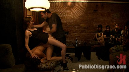 Penthouse pet franceska jaimes is publicly caned and make love. Penthouse Pet Fanceska Jaimes has her great round ass caned in a public square, then she is fisted in her ass, fucked, and made to lick vagina in public