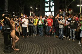 Spanish-Hottie-Naked-and-Fucked-in-Public