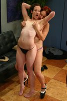 Babysitter is caught and punished by Mistress Sonya