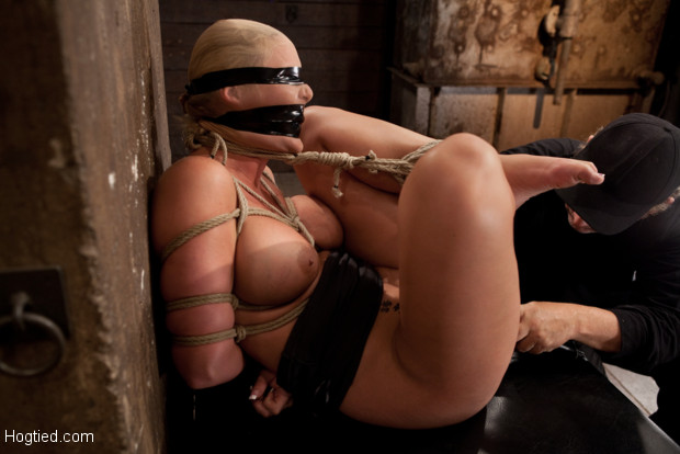 Phoenix Marie FINALLY and brutally orgasmed to near insanity. She is severely gagged, to muffle her screams as we overload her with orgasms. NO MERCY!