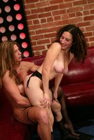 Beauty gets dominated for the first time by Kym Wilde