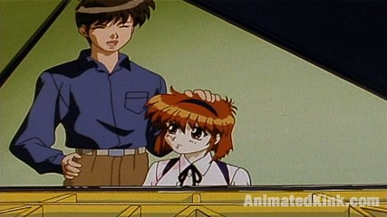 The pianist. Seiji lives with Yuna, an android.  Seiji treats Yuna like a human being - rather than a robot. He has sex with her as if she was his girlfriend.