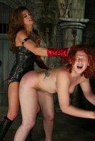 Humiliation and explosive strap-on fuck makes Venus come hard
