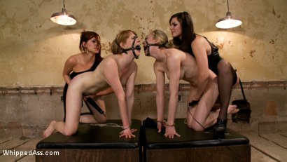 Maitresse-Madeline-and-Bobbi-Starr-unite-to-destroy-two-hot-blondes-LIVE-on-Whipped-Ass