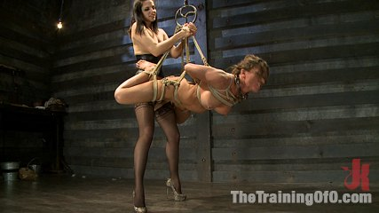Lesbian slave training ariel xbrfeatured trainer bobbi starr. Bobbi Starr teaches Ariel humility through sadistic torture, then fucks her with a cruel strap on, and finishes her with fisting and pain management