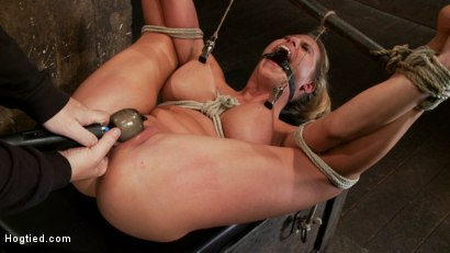 Sexy-blond-bomb-shell-w-huge-tits-is-anally-penetrated-nipple-tortured-made-to-squirt-and-cum