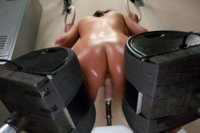 The glorious holes of Phoenix Marie completely fucked out by machines. She oils up her ass & tits, looks at you, & dirty talks while getting fucked.