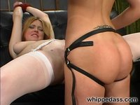 Lazy house maid sexually punished and humiliated