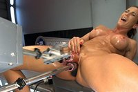 TRIPLE-PENETRATION-MUSCLE-BABE-Ariel-X-Flexing-Her-Pussy-Power
