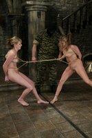 Jackie Moore battles Audrey Leigh