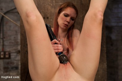 Part 4 of January's live show - Ashli Orion gets beaten, finger-fucked, and made to cum by Rain DeGrey - while hanging upside down.