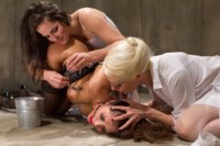 Francesca Le submits for the first time at Whipped Ass in a sexy and explosive medical roleplay with two smoking hot lesbians!