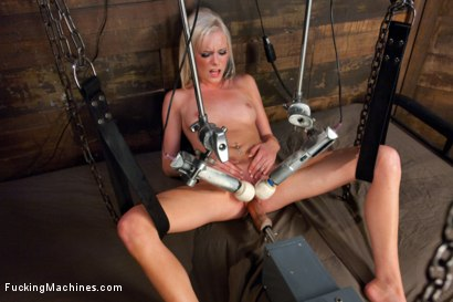 Tiny 20yr old southern girl finds the edge of her pussy tolerance w/big dicks, fast machines, a ball gag & choking rope. The Sybian makes her squirt!
