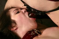 Foxy Fox explores her submissive side with Chanta Rose