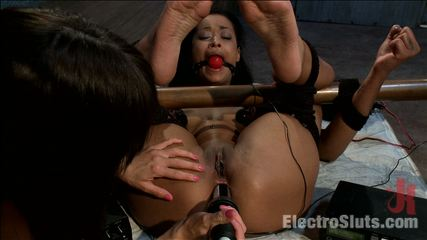 Skin diamond back for more. It takes a lot to break Skin Diamond. Gia DiMarco accepts the challenge. Skin much electrosex punishment before bending to Gia's will!
