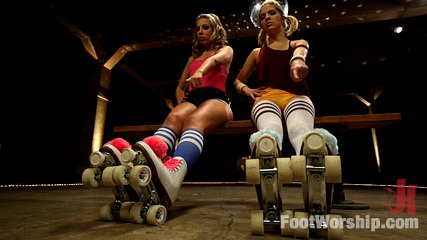 Dirty Socks and Roller Skates featuring Chastity Lynn and Lia Lor